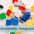 Nauka myślenia - Kategoryzacje