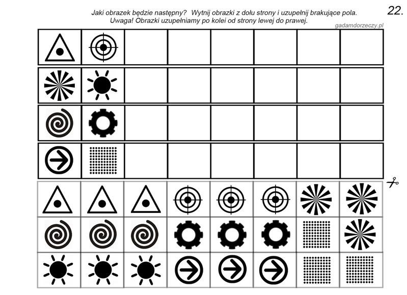 Kontynuowanie sekwencji na materiale atematycznym