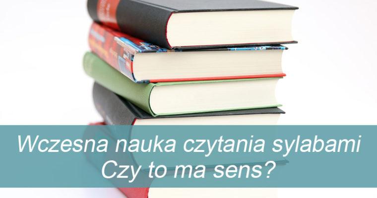 Wczesna nauka czytania sylabami