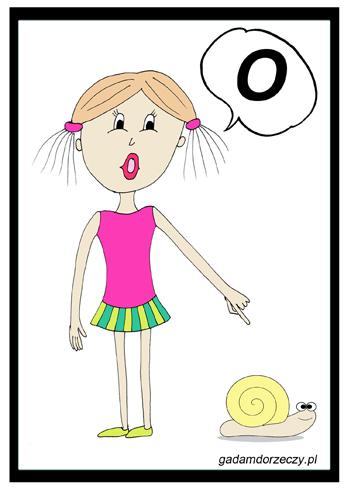 """""""Dziewczynka zobaczyła ślimaka. Ona mówi O!"""""""